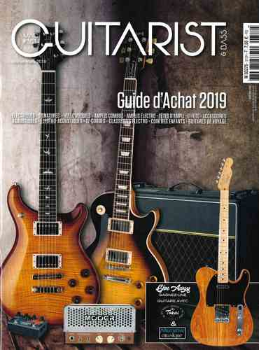 Couverture Guitarist & Bass 2019