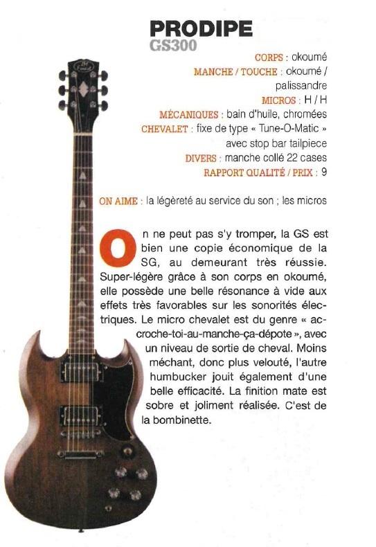 GS300 - GA Guitarist & Bass 2020