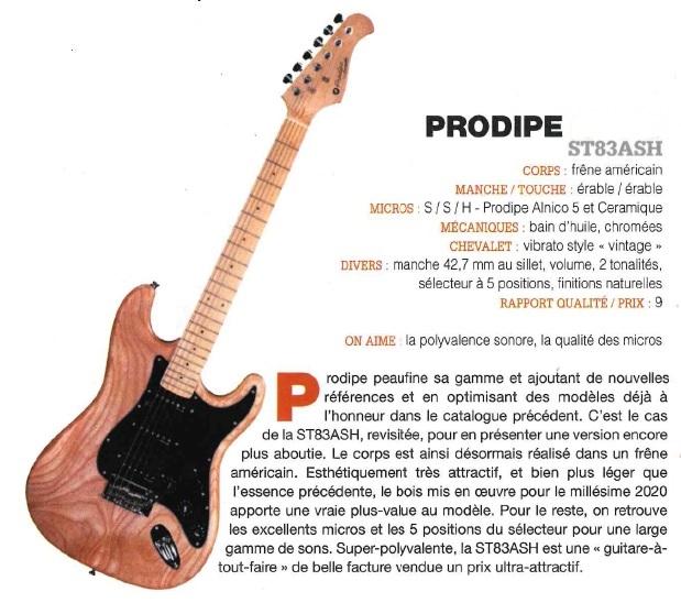 ST83ASH - GA Guitarist & Bass 2020